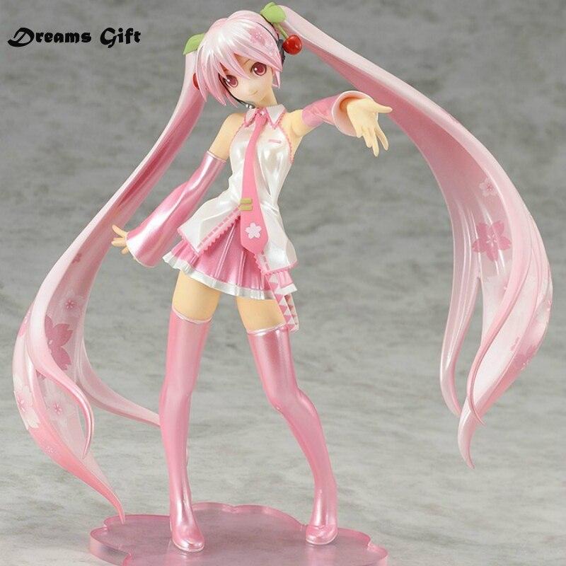 2017 Hatsune Miku Sakura Miku Pink Sexy Figurines 16CM