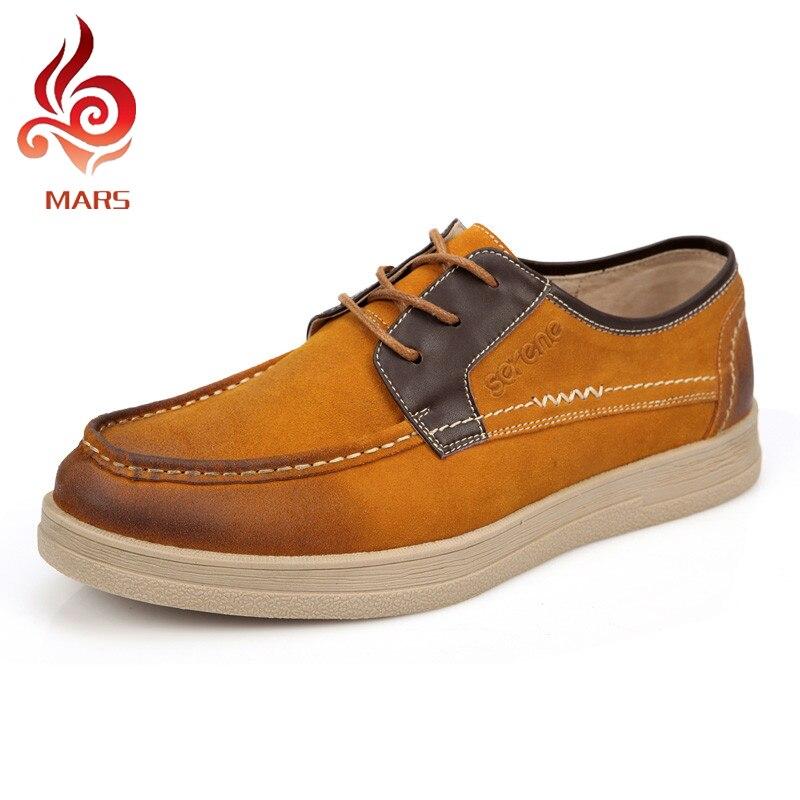2015 New Men Flat Shoes British Style Winter Shoes Men