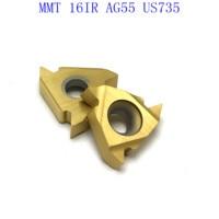 ag55 vp15tf ue6020 us735 20PCS MMT 16IR AG55 VP15TF / UE6020 / אשכול US735 קרביד הכנס הפיכת כלי חיתוך כלי מחרטה כלי כרסום CNC קאטר כלי (3)