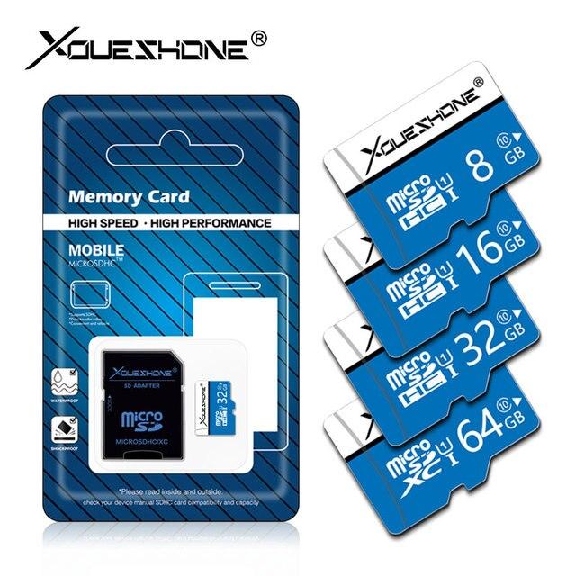 Alta velocidade Class10 64 tarjeta micro sd 128 gb cartão micro sd gb gb gb 8 16 32 gb Cartão de Memória SDHC /SDXC leitor de cartão mini tf cartao de memoria