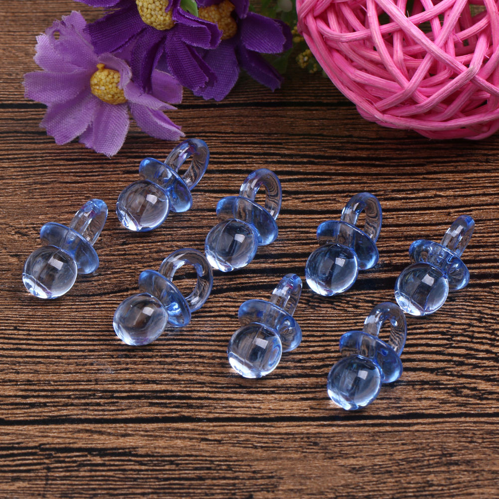 100Pcs Clear Baby Shower Favors