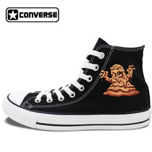 Design Custom Mud Monsters High Top Converse Chuck Taylor for Men Women's Birthday Gifts Skateboarding Shoes Canvas Sneakers