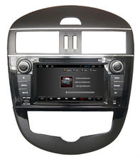 For in dash capacitive Quad core Nissan New Tiida car dvd player GPS with WiFI+FM/AM Radio+BT phonebook+Canbus+USB/SD+3G+ipod