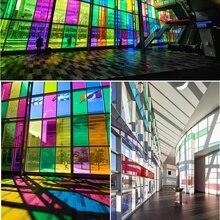 HOHOFILM 1,52x10 м оконная пленка самоклеющиеся стеклянные наклейки декоративный оконный оттенок для домашнего здания офисный Декор 60''x33ft