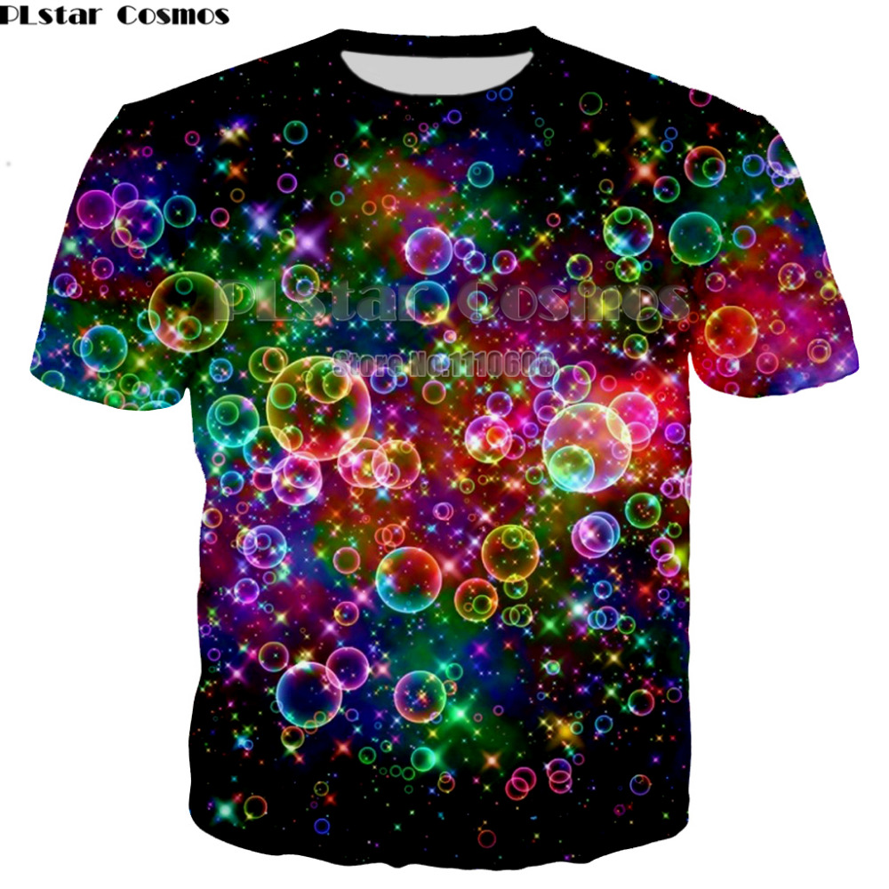 Cool T Shirt Men women Colorful Tee Punk Rock Clothes Character 3d T-shirt Cool Mens Clothing Summer TOP Large size XS-7XL