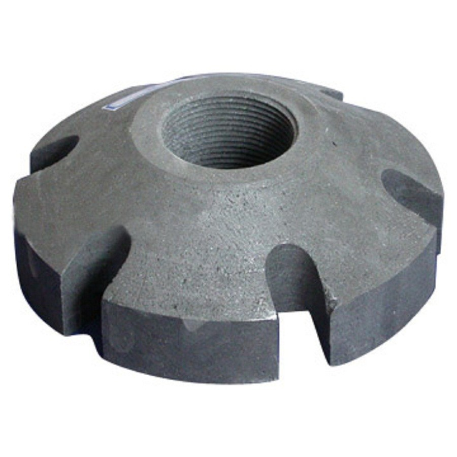 hi-tech Graphite rotor for aluminum dehydrogenation and purification 12
