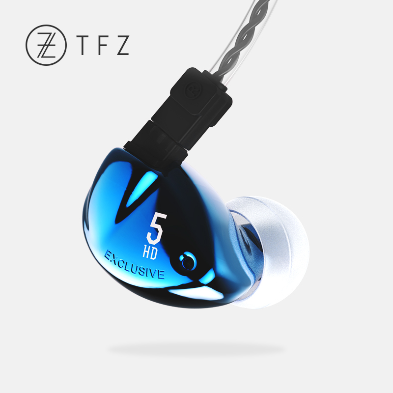 TFZ EXCLUSIVE 5 HiFi In-Ear Earphone Audiophile graphene driver with Detachable Cables DJ Parsing Earphones tfz exclusive 5 in ear earphone the