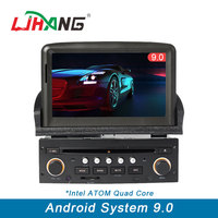 LJHANG 1 Din Car DVD Player Android 9.0 for Peugeot 307 Bluetooth Steering Wheel Control RDS GPS Automotive Navi Multimedia WIFI