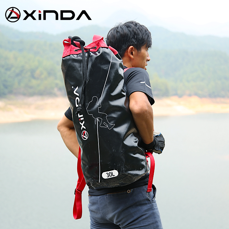 Xinda Outdoor Climbing Rope Bag Storage backpack outdoor rappelling backpack equipment bag mountaineering Bag