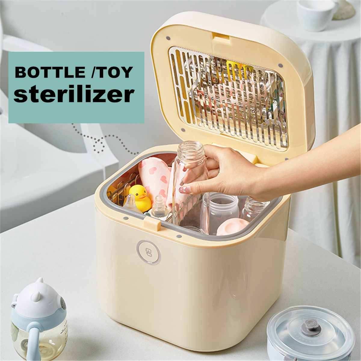 Universal 10L eléctrico bebé alimentación leche botella calor seco esterilizador secadora máquina multifunción botella esterilizadora