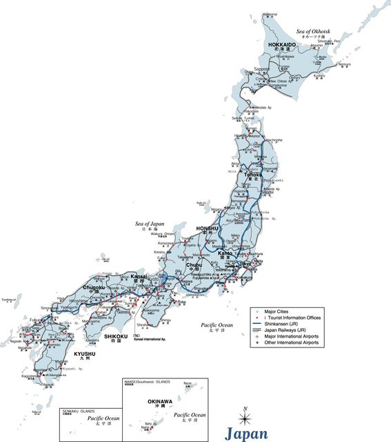 US $3 96 |Map of Japan High Resolution Standard Japanese Maps Poster  Decorative Wall Sticker Canvas Painting Home Art Home Decoration Gift-in  Wall