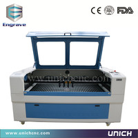 High speed cnc laser cutting and engraving machine for non-metal materal 4 heads