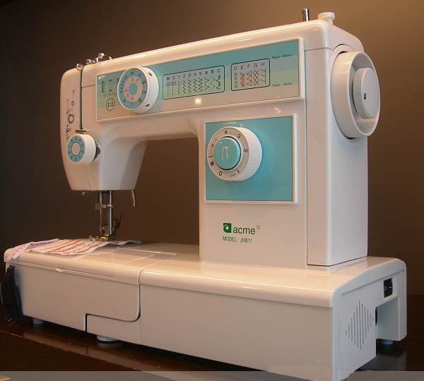 Free Shipping Origian New Chinese Famous Brand ACME Household Sewing Impressive Sewing Machine In China