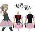 Бесплатная доставка за Границу Мирай Kuriyama Женщины Девушки Летние Платья костюм Аниме Косплей Костюм AA2049
