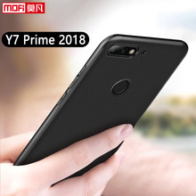 Huawei Y7 Prime (2018) Case Cover Soft Silicone TPU Pirme 2018 Coque Mofi Black Clear 5.99