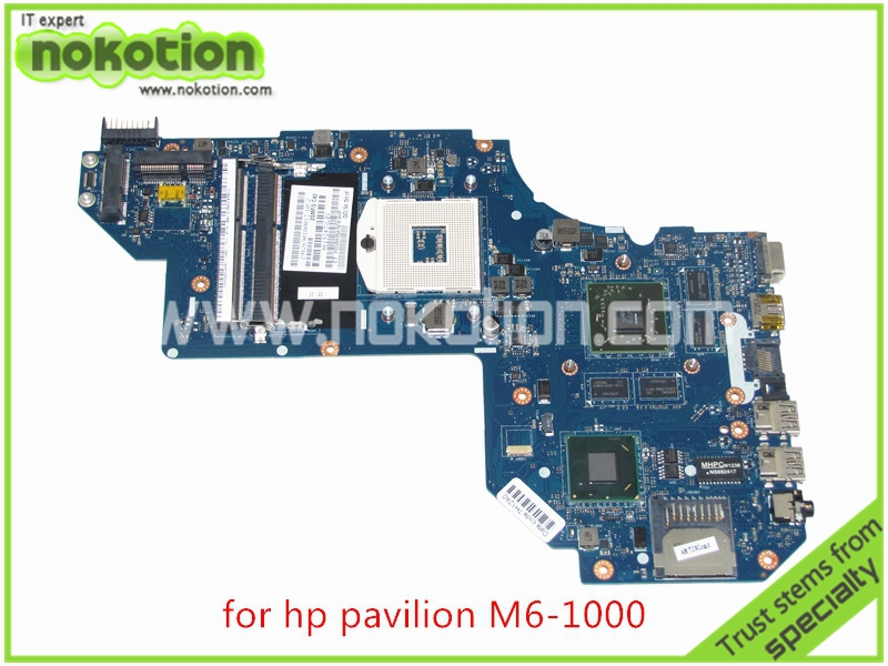 NOKOTION QCL50 LA-8711P 686930-001 690293-001 For HP pavilion M6 M6-1000 laptop motherboard 7670M 2GB Graphics HM77 DDR3 купить недорого в Москве