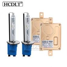 HCDLT 35W H7 Canbus HID Kit Xenon D2H H1 H3 H7 H11 HB3 HB4 9012 5500K