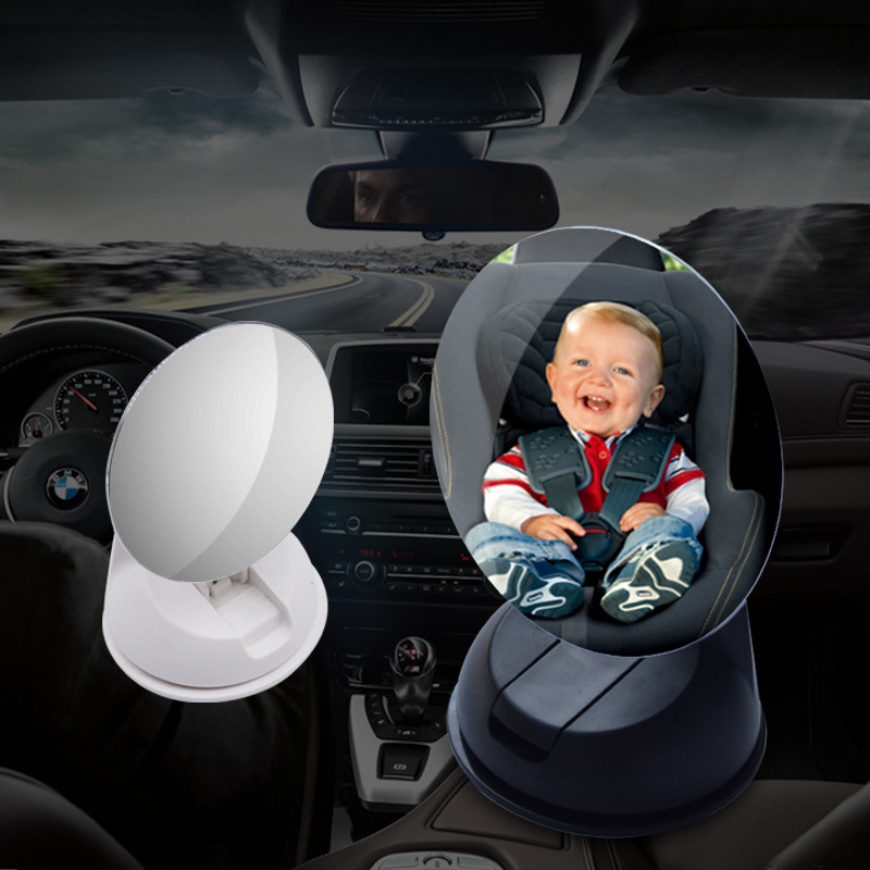 Baby Front View Mirror Car Back Seat View Mirror Reverse Safety Seat Mirror Baby
