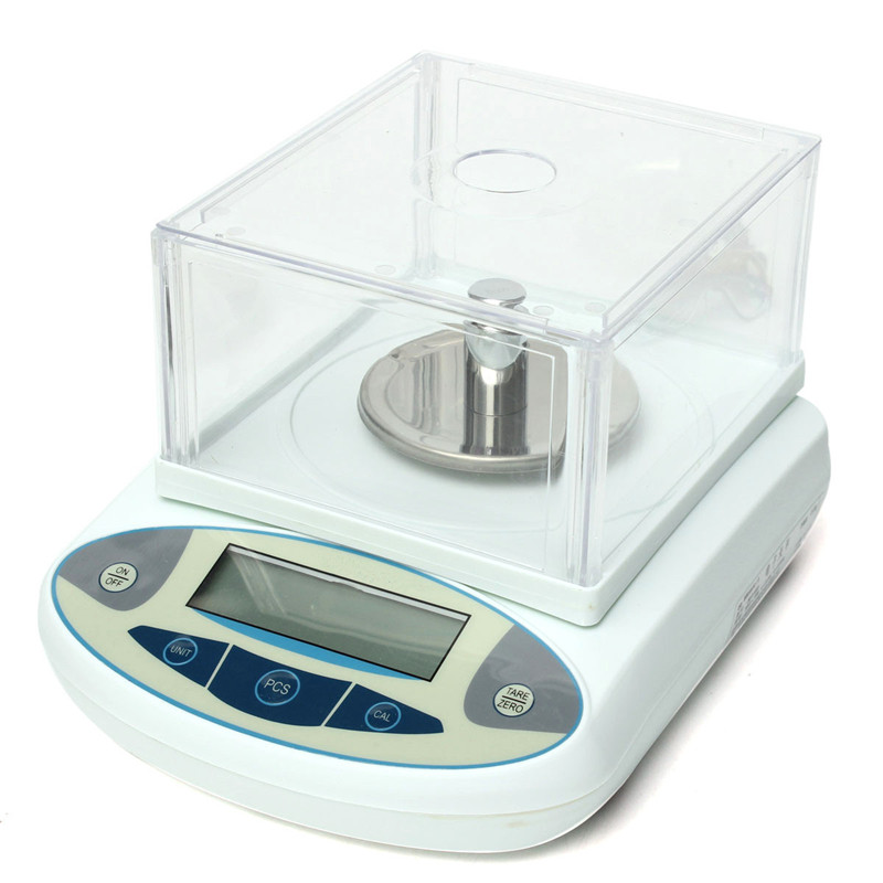 100 x 0.001g 1mg weight scale Digital Lab Analytical Balance Electronic Precision Scale New Arrival