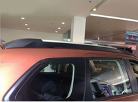 Brand New! Adhesive Type Roof Rack Side Rails Bars Luggage Carrier For 13 14 Mitsubishi Outlander 2013 2014