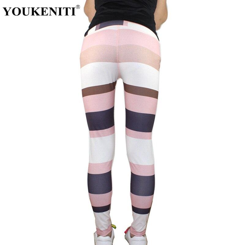YOUKENITI 2018 Neue Großhandel Frauen Gamaschen Push Up Print Hohe Elastische Fitness Legging Für Frauen Casual Hosen