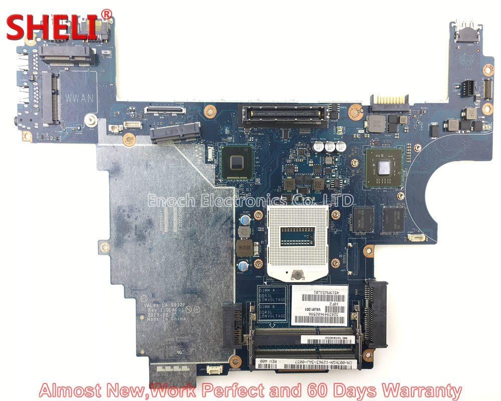 SHELI CN-007KGN 007KGN 07KGN Laptop Motherboard For Dell Latitude E6440 VAL91 LA-9932P HD 8690M 2GB System Board Main Board nokotion 0h2ydf cn 0h2ydf motherboard for dell latitude e6420 laptop main board pal51 la 6592p geforce nvs4200m graphics