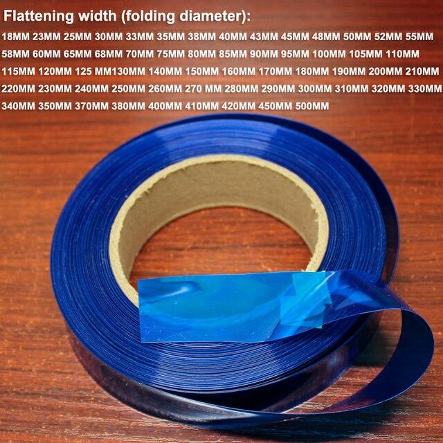 1 キロ 18650 26650 リチウム電池パッケージ交換用フィルムバッテリー DIY PVC 熱収縮スリーブフィルム