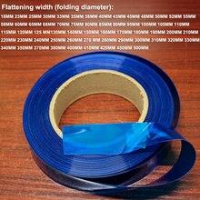 1 kg 18650 26650 bateria de lítio pacote de pele filme substituição Da Bateria DIY PVC película de psiquiatra do calor manga retráctil