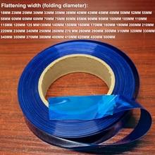 1 kg 18650 26650 리튬 배터리 패키지 피부 교체 필름 배터리 diy pvc 열 수축 슬리브 수축 필름
