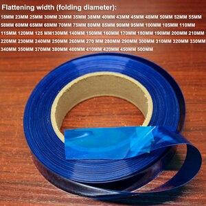 Image 1 - 1kg 18650 26650 batería de litio paquete piel película de repuesto batería DIY PVC calor contracción película retráctil