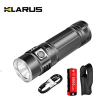 KLARUS G20 USB Rechargeable LED Flashlight Torch With 26650 Battery 3000 Lumens CREE XHP70 N4 LED Light Dual Switch Lantern