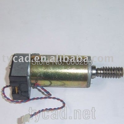 C2848-60003 Motor/encoder assembly (includes helical drive gear) for HP Designjet 200 220 600 650 Original used