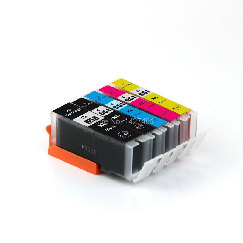 YOTAT PGI 650 CLI 651 ink cartridge PGI-650 CLI-651 for Canon PIXMA IP7260/MG5460/MG6360/MX726/MX926/MG6460/MG7160/IP8760 empty ciss for canon pgi 650 bk cli 651 kcmyg ciss for canon pixma mg6360