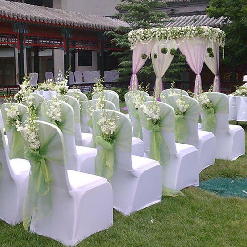 Cheap Home Wedding Ideas: 2017 Cheap 1.45*20M Sheer Mirror Organza Fabric Wedding