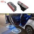 2 x LED Car Door Courtesy Laser Projector Logo Light For SKODA Superb 2009-2014