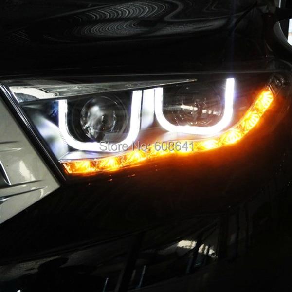 Kluger Highlander LED φώτα κεφαλής U τύπου Angel - Φώτα αυτοκινήτων - Φωτογραφία 2