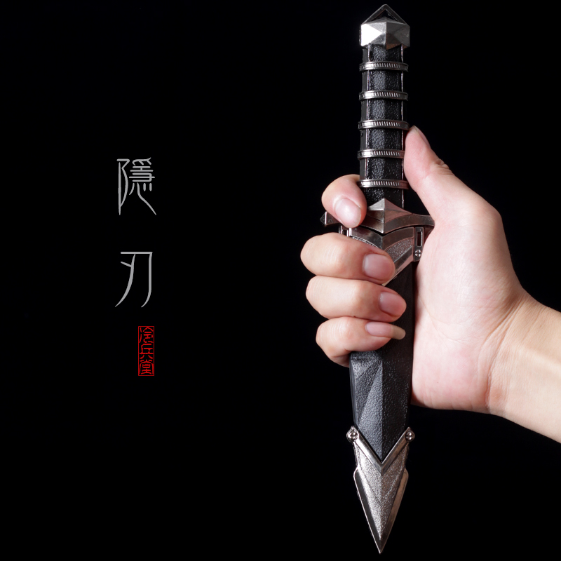 Small Sword Simple Stainless Steel Sword Home Decoration Outdoor Self-defense One Sword Short Sword