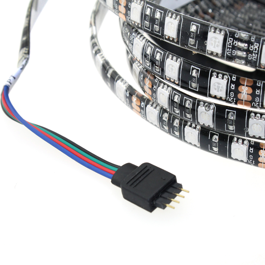 Tiras de Led v 5050 rgb 4 cores Modelo do Chip Led : Smd5050
