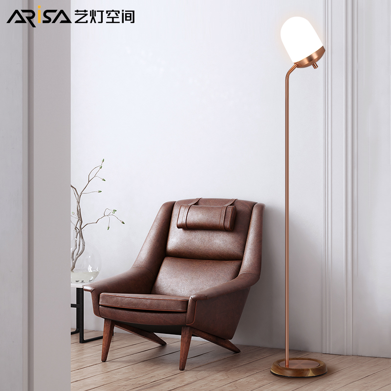 Nordic LED retro Floor lamps modern living room lights Iron art Floor light bedroom Fixtures Novelty Floor lighting modern 9w 12w 15w led floor lamp remote dimmable stand lights living room piano reading standing lighting led floor lighting