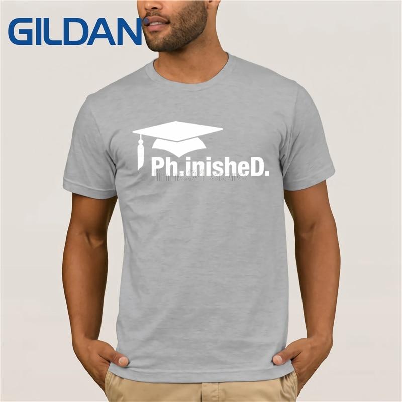 57ed532eaa GILDAN PhinisheD Shirt 2, Funny Cute PhD Graduation Doctorate Gift men's T- shirt