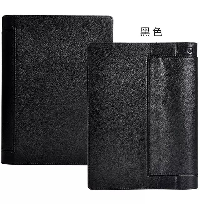 New Litchee Pattern Tablet Case for Lenovo Yoga Tab 3 10 Pro X90/X90F/X90M/X90L Flip Leather Case for yoga tab3 plus case+stylus
