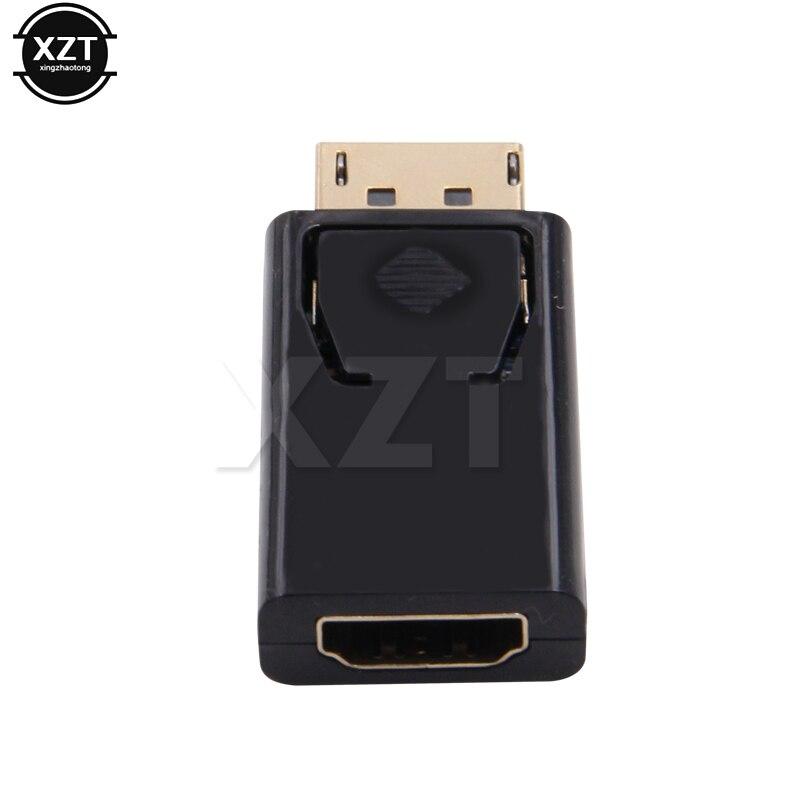 DisplayPort DP to HDMI-совместимого адаптера мини конвертер адаптер «Папа-мама» Аудио Видео кабель для портативных ПК проектор HDTV кабель