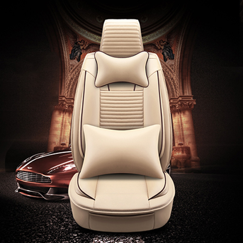 Luxury PU Leather Auto Universal 4 color Automotive car seat covers for Honda accord 7 8 9 civic CRV CR-V 2017 2016 2015 2014