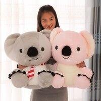 35cm 0.55KG   50cm 1.18KG Hot New Lovely Soft Animal Koala Plush Toy Big Stuffed Cartoon Koalas Pillow Kids Play Doll Present