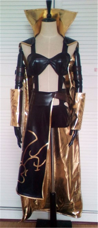 2018 Hot LeBlanc Cosplay The Game lol Cosplay LeBlanc The Deceiver Classic Skin Custom Size Uniforms Cosplay Costume 1