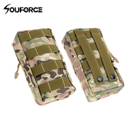 4 Color Tactical Kit Nylon Bag 20x11x6cm Molle Pouch Tactical Hanging Accessory for Hunting Accessories|Pouches| |  -