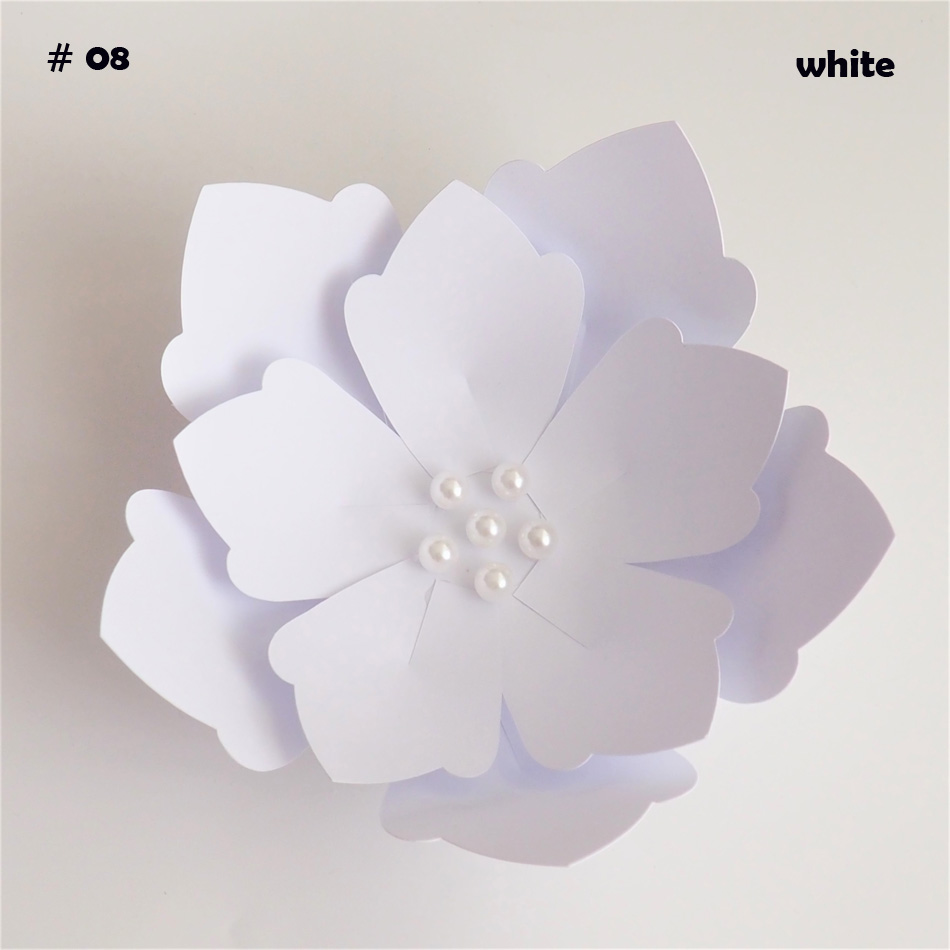 Us 1 58 47 Off 5 Minute Easy Diy Paper Flowers For Wedding Backdrops Decorations Paper Crafts Nursery Room Deco Baby Shower Video Tutorial In