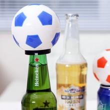 цена на Creative football automatic bottle opener shape Rev. Bottle opener 7*8*4CM free shipping