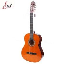 Высокое качество 39 «Basswood Классическая гитара 6 струн студенты начинающих гитара ra с пенпосылка