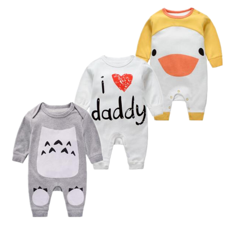 Newborn baby girl clothes Penguin style rompers kids clothes long sleeve Romper Summer Boy Jumpsuit Roupas Infantil Menina newborn baby boy gentleman rompers long sleeve cotton next baby infant jumpsuit girl clothes roupas de bebe infantil costumes